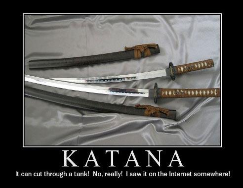 katana myths